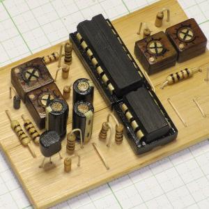 竹クラフト 電子回路基板