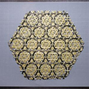 菊六つ目編み 竹細工