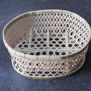 楕円形六つ目椀かご