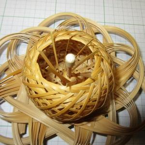 竹編み水仙もどき 組み合わせ