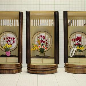 竹クラフト 丸窓3種