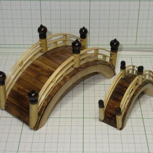 竹クラフト 太鼓橋 2種