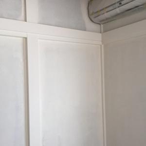 2階和室砂壁DIY~ペンキ編3