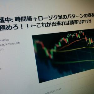 【FX初心者の方へ】※諦めず続けろ!!!ドル円は典型的なパターンで勝ち確。