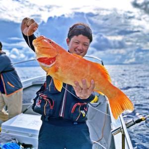 【泳がせ釣り】ハイサイオジサン泳がせると高確率で釣れる魚!!海輝丸さん前編