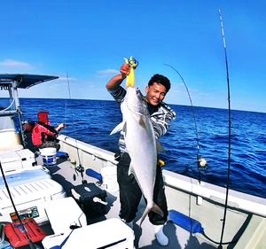 【将来の海人】泳がせ釣りでアーラミーバイと思ってガチで魚を止めてしまった!!