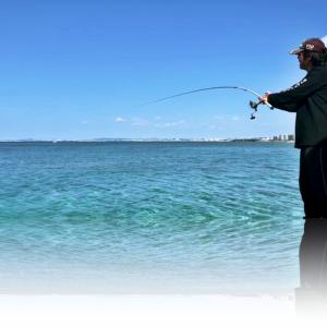 竿を合わせた時の最高のヒット音&魚針外れ浮きナイスキャッチ