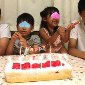 孫 七歳の誕生日