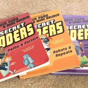 【英語の漫画】Secret Codersを読んで、コーディングと英語学習してみよう!