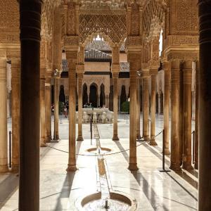 南スペイン・アルハンブラ宮殿