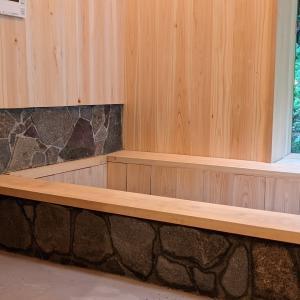 ようやく、お風呂完成!