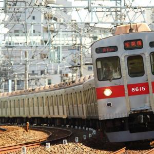 東急古参車を東武線内で狙う