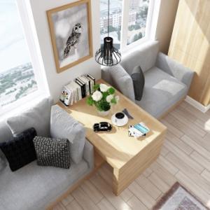 ●やっぱり家具配置は大切!