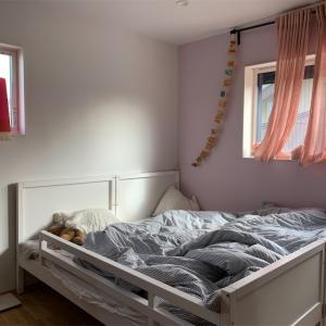 イケアの二段ベッドを横に並べたら子供4人で寝るようになりました