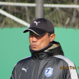 片野坂監督 続投  来季も指揮を  &  清水戦まで後3日  スポパへ