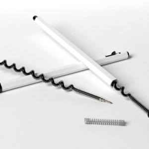2倍長く使える、ボールペン芯。