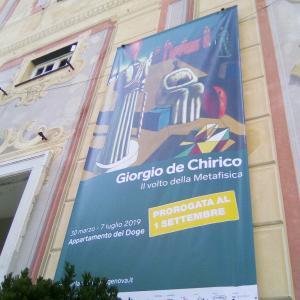 ジョルジョ·デ·キリコ展―形而上学絵画の顔―@Genova Palazzo Ducale