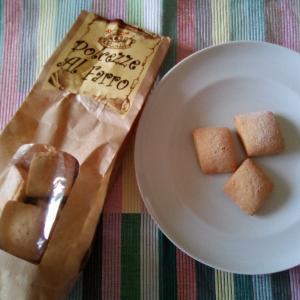 とても素朴な風味のスペルト小麦のビスコッティ☆