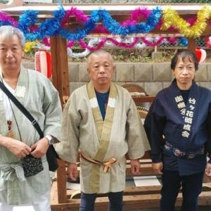 松戸・三ヶ月三日月神社例大祭