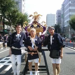 亀戸香取神社 例大祭 平成30年8月5日(日)