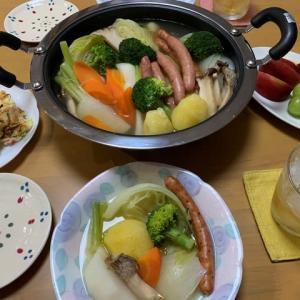 ポトフ☆豆腐とネギのお焼