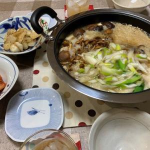 きのこ鍋☆蕪の塩コショー炒め