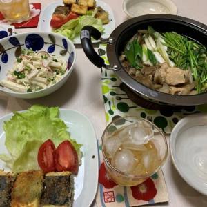豆腐カツ☆せり鍋
