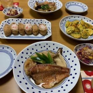 いなり寿司☆煮魚