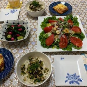 野菜たっぷり!焼き肉サラダ