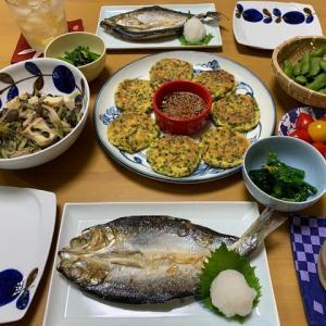 ニラと豆腐のお焼き☆煮物