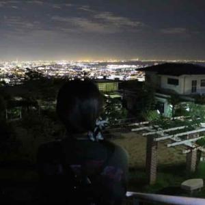 前山公園【アクセス・駐車場】芦屋の山手エリアより望む夜景