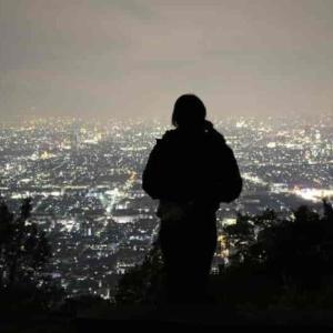 枚岡山展望台【夜景】枚岡公園で行うナイトハイキング