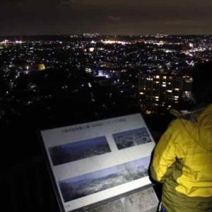 長野公園~奥河内さくら公園より望む夜景【アクセス・駐車場】