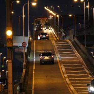 なみはや大橋~夜景と夕日【アクセス・駐車場】大阪のベタ踏み坂