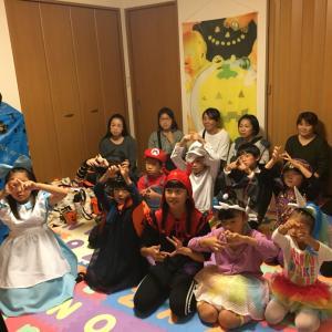 歌と絵本で楽しむハロウィン♡水曜日コース・レッスンレポ