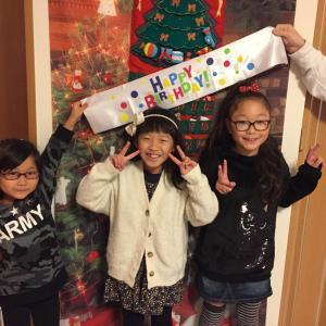 クリスマスビンゴゲーム♡土曜日コース・レッスンレポ