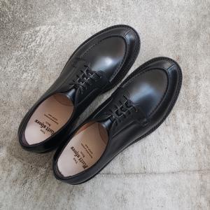 国産靴ブランド「ラッドシューズ」 スプリットVチップ ワインハイマーボックスカーフモデル