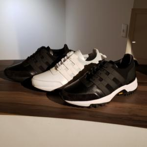 靴ブランド WHダブルエイチ 待望の新作スニーカー入荷