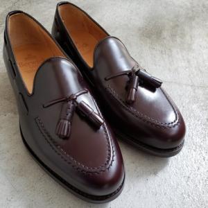 何かと便利な使える革靴 タッセルローファー バーウィック 東京・中野坂上の靴屋SO-KUTSU
