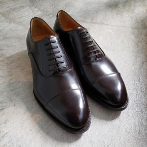 靴屋おすすめのドレスシューズ オリエンタル ストレートチップST-6100 ダークブラウン