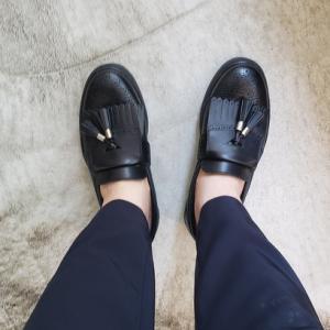 革靴×スニーカー SLACKのキルトタッセルスニーカー 中野坂上 靴屋SO-KUTSU