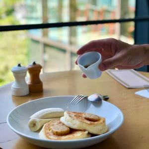 緑あふれるテラス席で頂く最高に美味しい朝食 @bills表参道