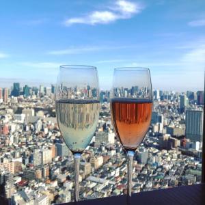 グラス越しに東京タワーが見える♡恵比寿ガーデンプレイス39階@Longrain(ロングレイン)