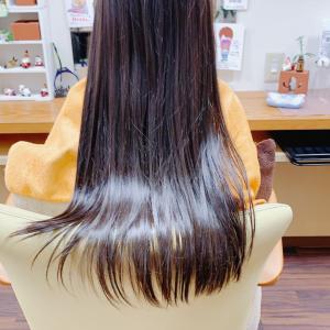 *やっぱり子供の髪の毛はすごいね!ピッカピカ!!*