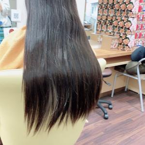 *ゴムでくくった髪の毛を見てインディアンみたい!と言ったお母さん。*