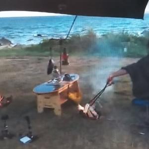 愛が溢れる 「サトシとショウの海キャンプ」