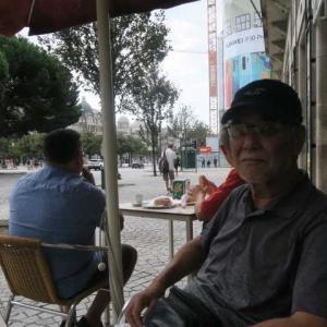 6度目のポルトガル(15)ポルト在40年の日本人の方と~待ち合わせは市庁舎前~ポルト在40年の日本人Sさんと