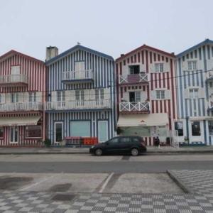 6度目のポルトガル(17) コスタ・ノヴァ~ストライブ模様のパジャマシティー