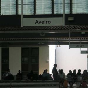 6度目のポルトガル(18)町の中を運河が流れるアヴェイロは「水の都」