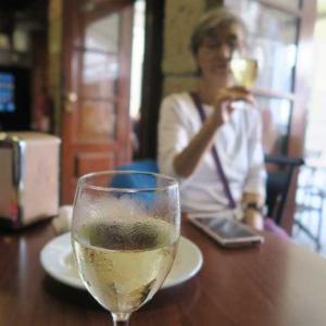 6度目のポルトガル(23)ポンデ・デ・リマで緑のワインでいい気分
